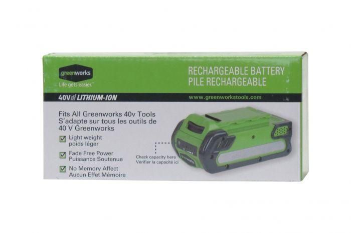 GreenWorks 40V 2 0Ah G-MAX Li-Ion Battery 29462