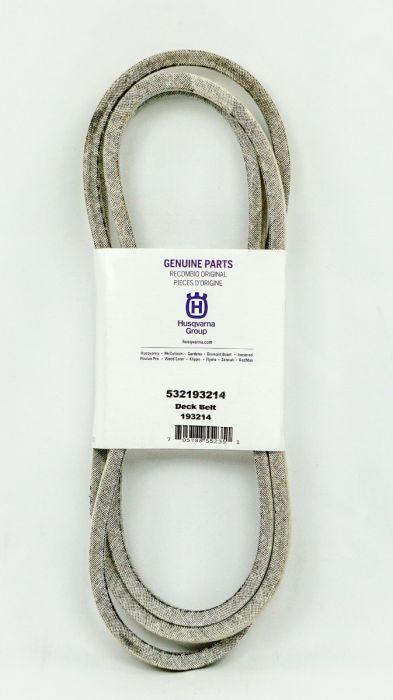 Poulan Pro Craftsman Deck Belt For 38 Inch Mower Decks 532193214