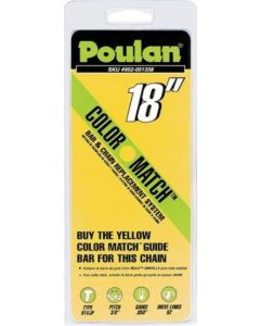 "Poulan 18"" Chain - Yellow Color Match  952051338"