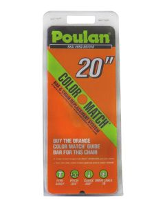 "Poulan 20"" Replacement Chain - Orange Color Match  952051310"