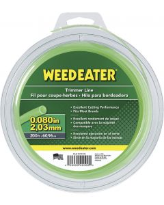 "Weed Eater  .080"" x 200' Round Trimmer Line  952701595"